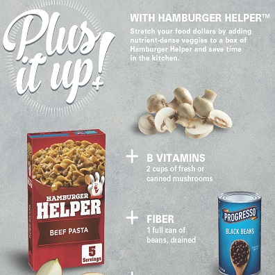 Plus Up with Hamburger Helper