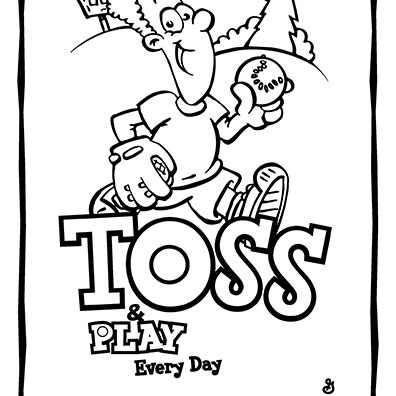 Toss-and-Play-Coloring-Sheet